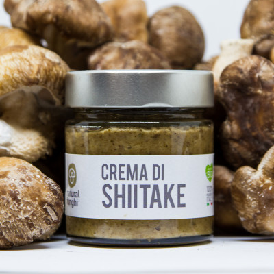 Crema biologica di Shiitake